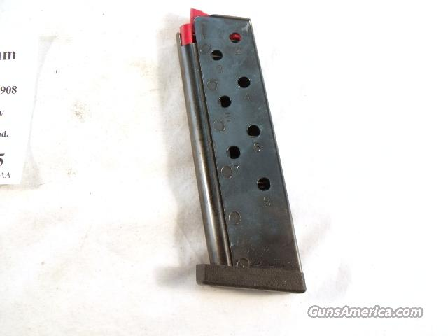 Magazine S&W 9mm 3913 or 908 or CS-9 Blue Steel Flat Plate Exc   Non-Guns > Magazines & Clips > Pistol Magazines > Smith & Wesson