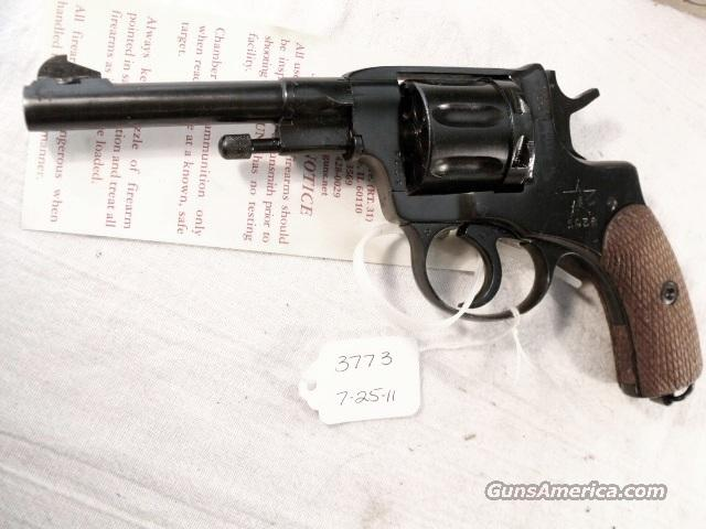 Nagant .32 S&W compatible World War II Nagant 7.62 Model 1895 Revolver Excellent 1936 with Holster & Kit 32 Smith & Wesson or 32 Tula Russia   Guns > Pistols > Surplus Pistols & Copies