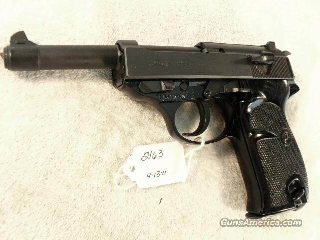 Walther 9mm P-38 variant P1 Lightweight Parkerized Steel Excellent 1980 P38 P-1 Federal German Police Bundespolizei CA OK  Guns > Pistols > Surplus Pistols & Copies