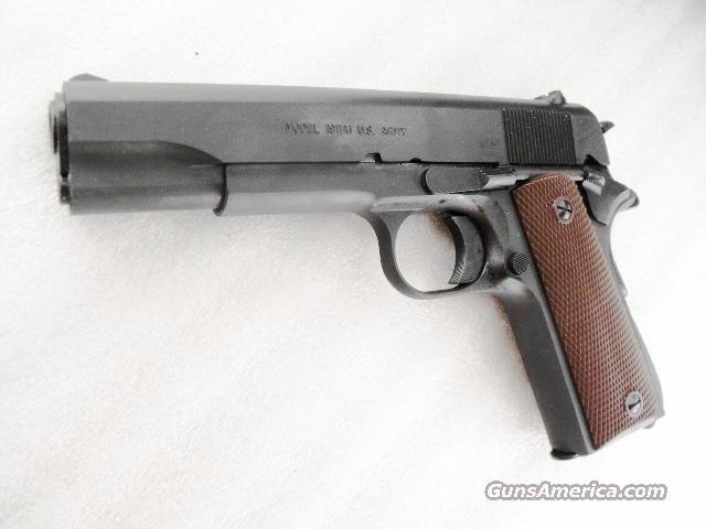 Auto Ordnance 45 ACP 1911A1 WWII Government Parkerized Kahr mfg NIB .45 Automatic GI World War II Type  Guns > Pistols > 1911 Pistol Copies (non-Colt)
