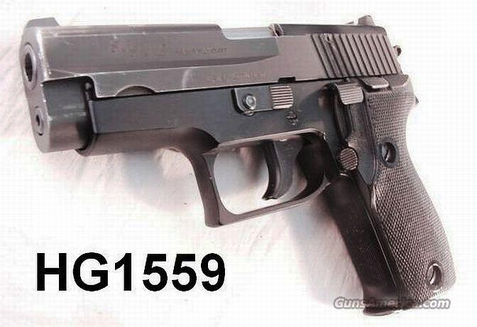 Sig Sauer 9mm P6/P225 VG-Exc 2 Mags 1980  Guns > Pistols > Sig - Sauer/Sigarms Pistols > Other