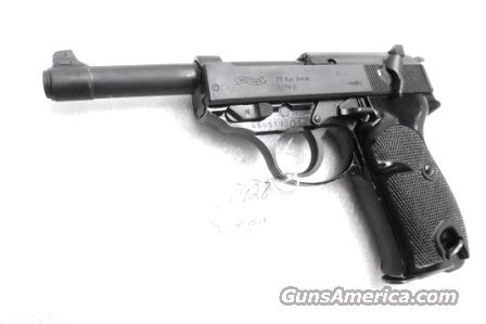 Walther 9mm P38 variant P1 Lightweight Military 1979 P-1 German Federal Border Guard BGS P-38 Descendant CA OK with 1 Factory 8 Shot Magazine Hex Bolt Reinforced Frame 	  Guns > Pistols > Walther Pistols > Post WWII > P38