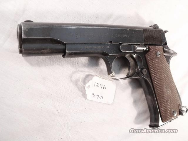 Star 9mm Model BS Colt Government Size Steel Frame 1971 Israeli Army Police 1 Magazine   Guns > Pistols > Surplus Pistols & Copies