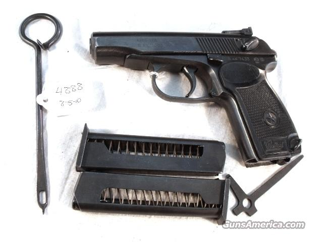 Russian .380 B-West IJ70 VG-Exc 2 Magazines ca. 1990 Makarov model IJ-70 380 Automatic  Guns > Pistols > Military Misc. Pistols Non-US