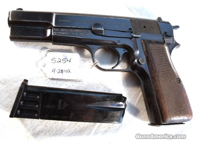 FN Browning 9mm Hi-Power Israeli Good 1987 w/2 Magazines  Guns > Pistols > FNH - Fabrique Nationale (FN) Pistols > High Power Type