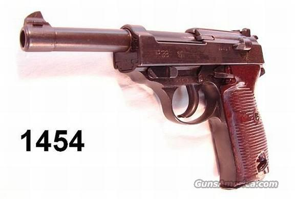 WWII P-38 Waffenamt 1943 byf VG w/Holster  Guns > Pistols > Walther Pistols > Pre-1945 > P-38