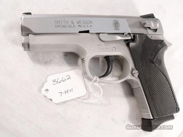 S&W 9mm Compact model 3913 Stainless VG 1 Magazine California Department of Corrections 1991   Guns > Pistols > Smith & Wesson Pistols - Autos > Alloy Frame