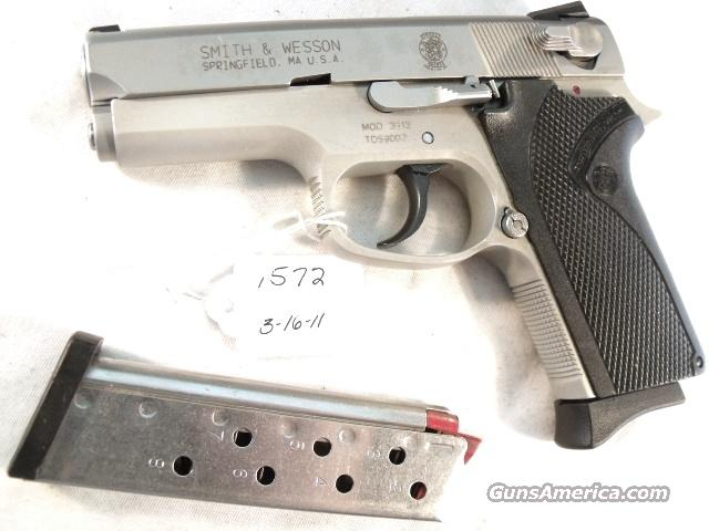 Smith & Wesson 9mm Compact model 3913 Stainless Excellent Condition 2 Magazines California Department of Corrections   Guns > Pistols > Smith & Wesson Pistols - Autos > Alloy Frame