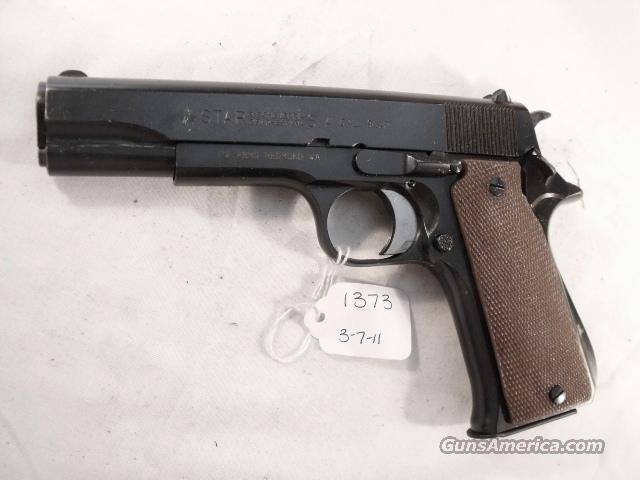 Star Spain 9mm Model BS Colt Government Size Steel Frame 1974 Israeli Army Police VG-Exc 1 Magazine  Guns > Pistols > Star Pistols