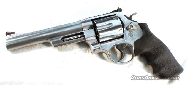 S&W .44 Magnum 6 in Stainless 629-6 RR WO CT TH Mint in Box  Guns > Pistols > Smith & Wesson Revolvers > Model 629