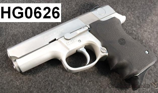 S&W 9mm 6946 Compact DAO SS Excellent Custom Satin Stainless 2 Magazines 1991 Double Action Only 6906 Variant Magazine Safety  Guns > Pistols > Smith & Wesson Pistols - Autos > Alloy Frame