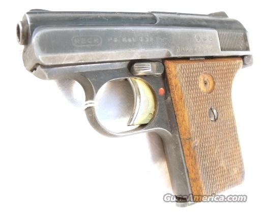 Parts for RECK .25 auto ca. 1968 West German  Non-Guns > Gun Parts > Misc > Pistols