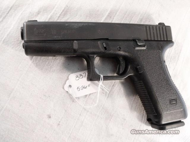 Glock 9mm model 17 VG 18 Shot 1 Magazine Tampa PD 1996 with Factory Night Sights    Guns > Pistols > Glock Pistols > 17
