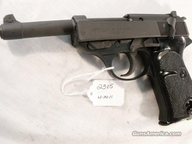 Walther 9mm P-38 variant P1 Lightweight Parkerized Steel Excellent 1980 P38 P-1 Federal German Police Bundespolizei CA OK  Guns > Pistols > Walther Pistols > Post WWII > Large Frame Autos