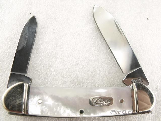Case Canoe Mother of Pearl 82131 Near Mint 2008 Production   Non-Guns > Knives/Swords > Knives > Folding Blade > Hand Made