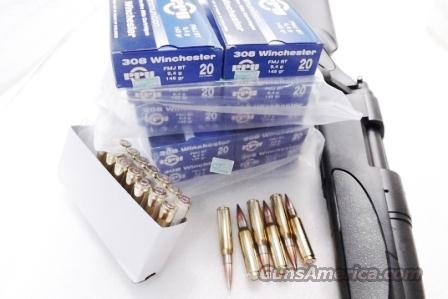Ammo: .308 Winchester 145 grain FMC Prvi Partizan 200 round lots of 10 boxes 10x$18.90 TR&Z Brass Case 308 Win 7.62 762 NATO Full Metal Case Jacket Ammunition Cartridges  Non-Guns > Ammunition