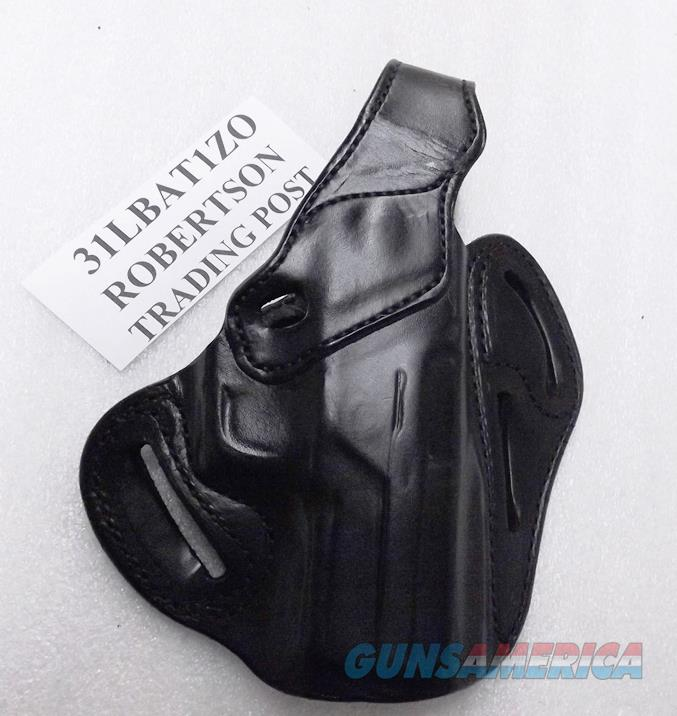 DeSantis RH Leather Pancake type Concealment Holster Sig 250 250C CZ75 Witness Ruger P89 P95 New Black Cow Right Hand FFDO Lock Slotted 31LBAT1Z0  Non-Guns > Holsters and Gunleather > Large Frame Auto
