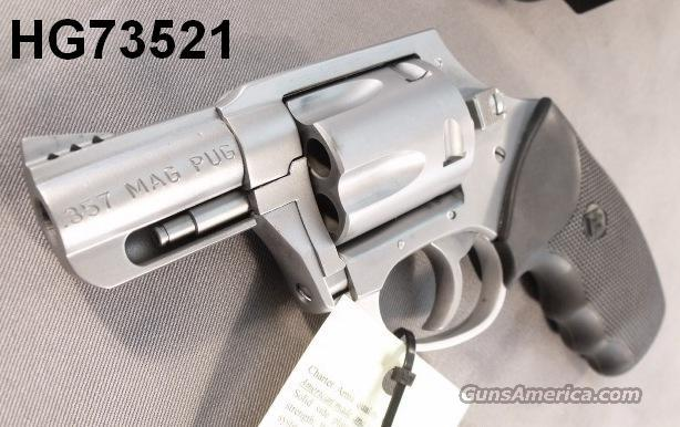 Charter .357 Mag Pug Lightweight Stainless Ported 2 in DAO NIB  Guns > Pistols > Charter Arms Revolvers