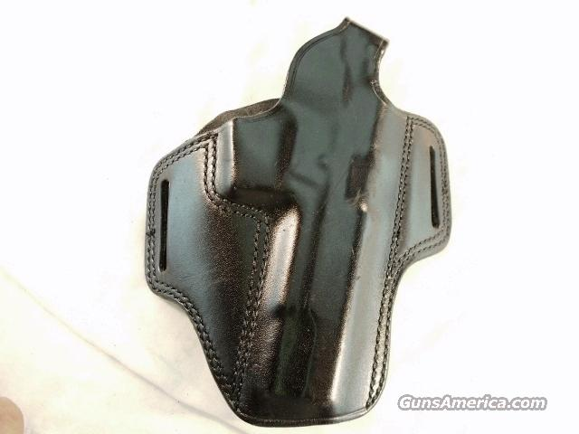 Holster S&W 4500 type Hume RH Pancake Exc 1980s  Non-Guns > Holsters and Gunleather > Large Frame Auto