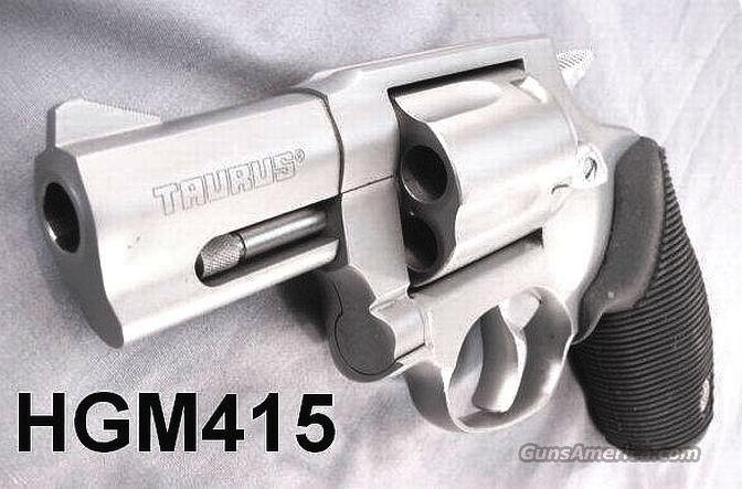 Taurus .41 Magnum Stainless Tracker 2 inch 5 Shot NIB Smith & Wesson 657 and Night Guard Descendant and Competitor 41 Remington Magnum Caliber  Guns > Pistols > Taurus Pistols/Revolvers > Revolvers