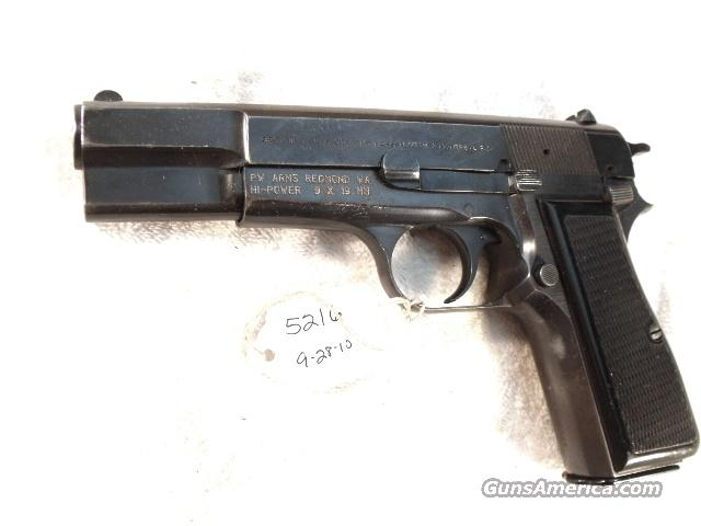 FN Browning 9mm Hi-Power Israeli Good 1969w/2 Magazines  Guns > Pistols > FNH - Fabrique Nationale (FN) Pistols > High Power Type