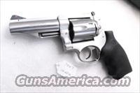 Ruger .44 Magnum Stainless Redhawk 4 inch Adjustable New 44 Mag Special Interchangeably  Guns > Pistols > Ruger Double Action Revolver > Redhawk Type