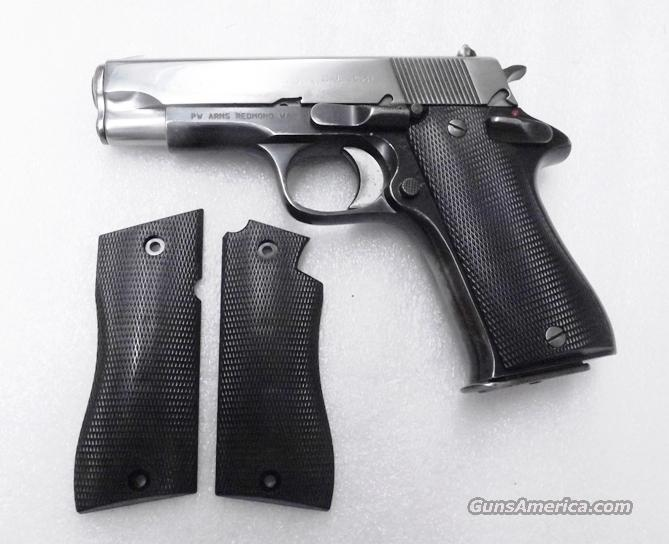 Grips for Star Model BM9 BKM Pistols Hard Black Polymer New Replacement GRBM9  No BKS   Non-Guns > Gun Parts > Grips > Other