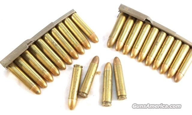 Ammo: .30 Carbine Chrysler Evansville WWII Issue 1943 in Stripper Clips Exc  Non-Guns > Collectible Cartridges