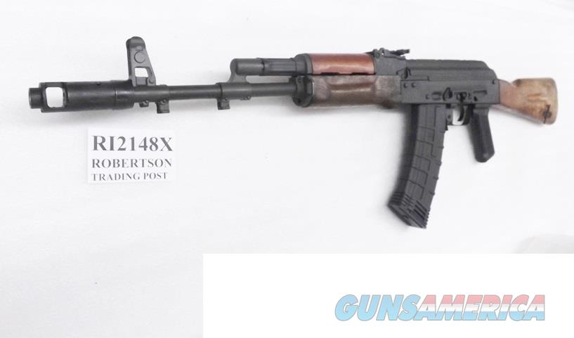 AK47 5.45x39mm Caliber AK74 Century Arms M74 Sporter Wood Stock 30 shot 2 Magazines RI2148X with Ammo Spiff $3.50 per box rate   Guns > Rifles > Century International Arms - Rifles > Rifles