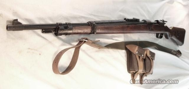 WWII German 98 Mauser 8mm Russian Capture Borsigwalde Code 243 1939  Guns > Rifles > Mauser Rifles > German