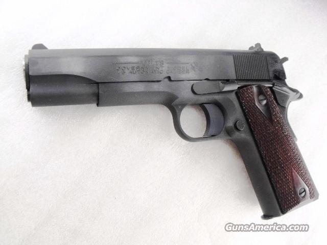 Colt .45 ACP Government Model 1991 Blue Steel 5 inch Rosewood NIB 45 Automatic 1911  Guns > Pistols > Colt Automatic Pistols (1911 & Var)