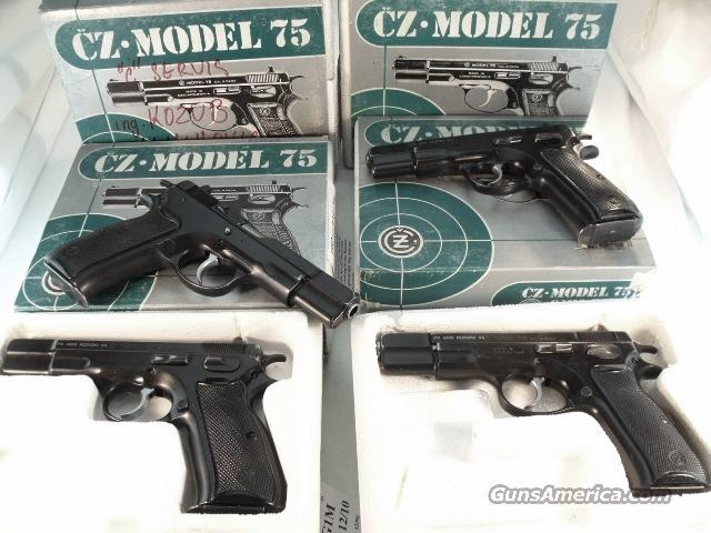CZ-75 9mm Czech Police 1992 VG Dept Issue Box 1 Mag  Guns > Pistols > Surplus Pistols & Copies