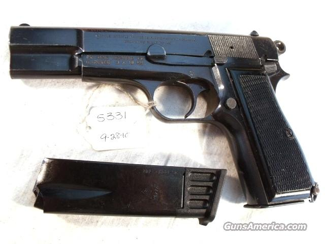 FN Browning 9mm Hi-Power Israeli VG 1969 w/2 Magazines  Guns > Pistols > Browning Pistols > Hi Power