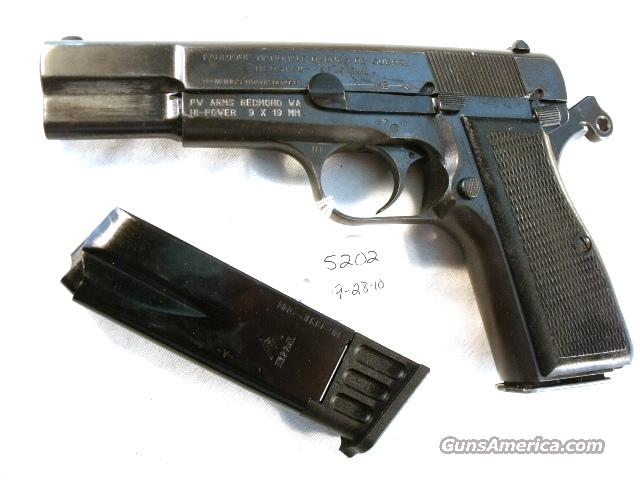 FN Browning 9mm Hi-Power Israeli Good 1977 Updated w/2 Magazines  Guns > Pistols > FNH - Fabrique Nationale (FN) Pistols > High Power Type