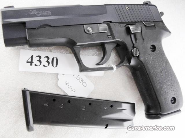 Sig 9mm P-226 Swiss Police Black Ice Teflon Slide P226 Sig Sauer all German with two new Mec-Gar Magazines CA MA OK 1991 		  Guns > Pistols > Sig - Sauer/Sigarms Pistols > P226