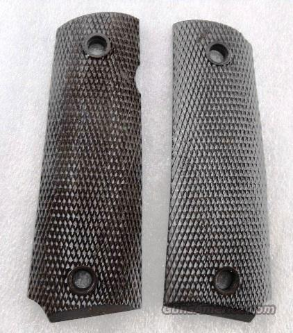 US Government Issue Grips 1911A1 Pistol Brown Composite GR5564063U  Non-Guns > Gun Parts > Grips > 1911