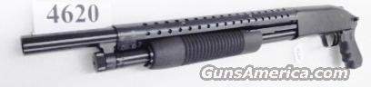 Mossberg 12 gauge Cruiser Grip Trench Gun type Heat Shield 3 inch 18 1/2 in Cylinder Bore 6 Shot Excellent Factory Demo 50440TU    Guns > Shotguns > Mossberg Shotguns > Pump > Tactical