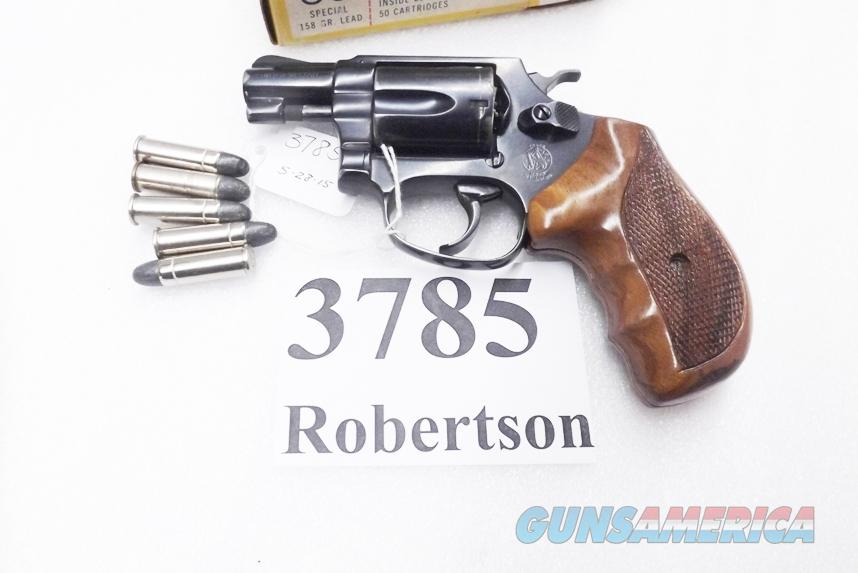 S&W .38 Special model 36 Chief's Special Airweight Blue 2 inch Snub 1961 Production 38 Spl Smith & Wesson 101602  Sile Grips TT Refinish   Guns > Pistols > Smith & Wesson Revolvers > Pocket Pistols