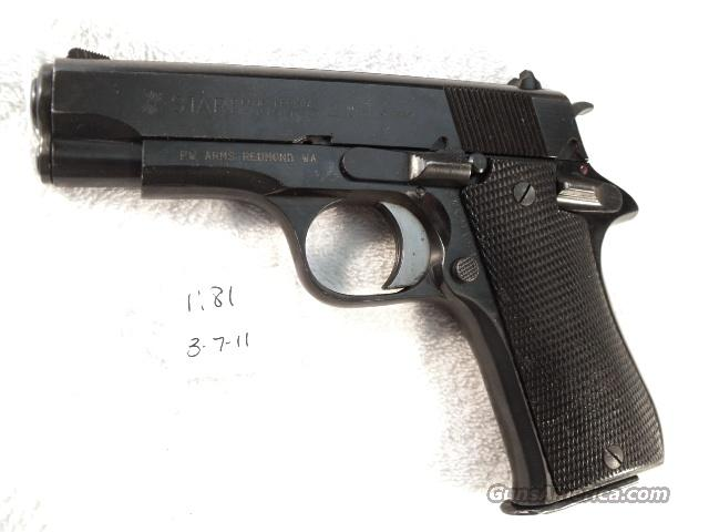 Star 9mm Model BM 9 Compact Israeli Police 1980 Exc  Colt Officer's ACP Ancestor PD type Blue Steel 9 Shot BM9 BM-9 Spain Echeverria  Guns > Pistols > Surplus Pistols & Copies