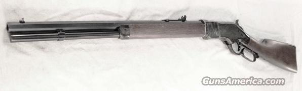 1866 Winchester King's Improvement close Copy Chaparral Arms .45 Long Colt 1866 Color Casehardened Walnut NIB Transitional Style close to 1873 Octagonal 20 inch  Guns > Rifles > Cowboy Action Rifles Misc.