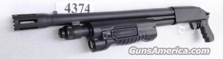 Mossberg 12 gauge Cruiser Grip Insight  3 inch 18 1/2 in Stand Off Breacher Cylinder Bore Tri Rail Forend 6 Shot Excellent Factory Demo 54129U   Guns > Shotguns > Mossberg Shotguns > Pump > Tactical