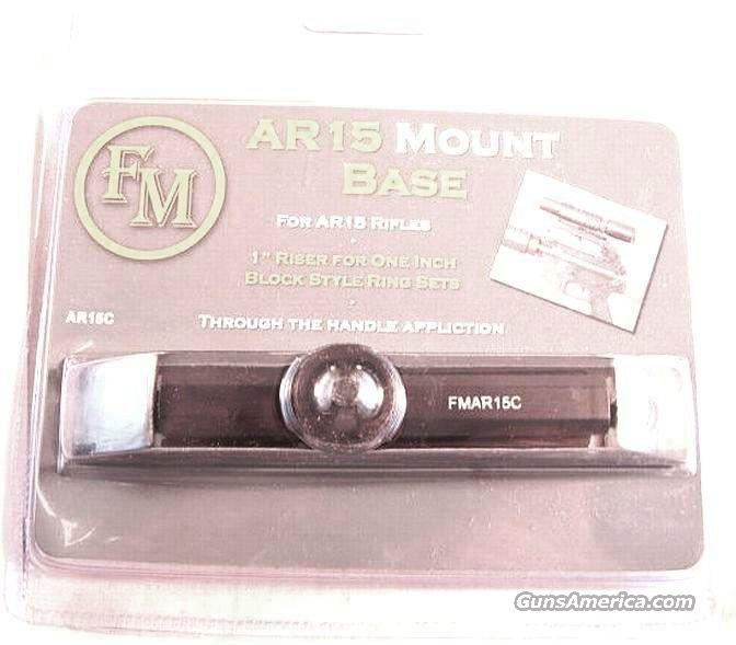 Scope Mount  AR-15 Handle Mount Base FM Brand NIB  Non-Guns > Scopes/Mounts/Rings & Optics > Mounts > Other
