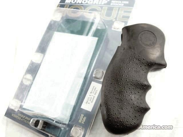 Grips S&W K or L Frame Round Butt Revolvers Hogue Monogrip Combat Finger Groove NIB Smith & Wesson Models 10 13 19 64 65 66 686  Non-Guns > Gunstocks, Grips & Wood