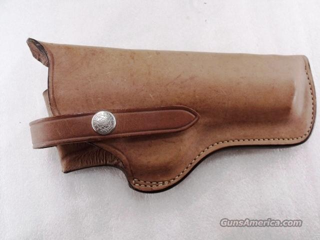 Bianchi Holster for Beeman Air Pistol model 6306 Plain Tan Unlined Right Hand Excellent Condition ca. 1970s mfg	  Non-Guns > Holsters and Gunleather > 1911