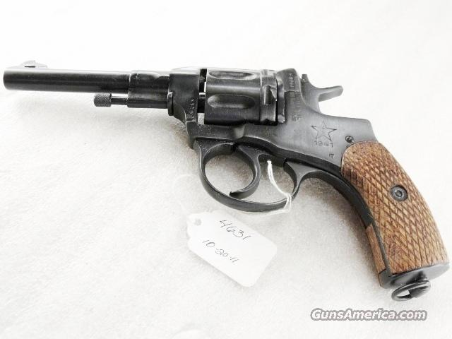 Nagant .32 S&W compatible World War II Nagant 7.62 Model 1895 Revolver Excellent 1941 with Holster & Kit 32 Smith & Wesson or 32 Tula Russia C&R CA OK	  Guns > Pistols > Surplus Pistols & Copies