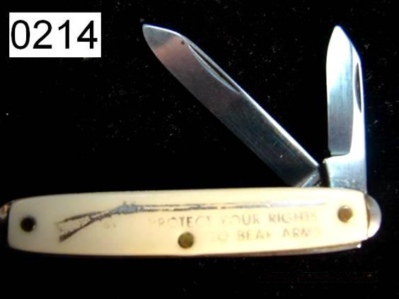 Knife: 2nd Amendment Advertising Knife 1960s Exc  Non-Guns > Knives/Swords > Knives > Folding Blade > Imported