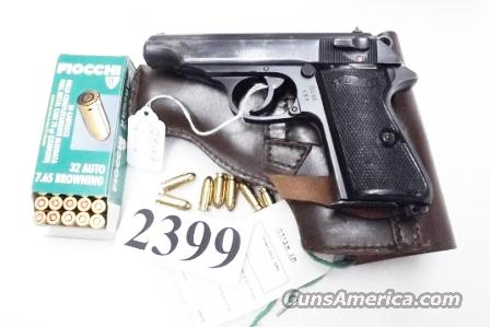 Walther .32 ACP Model PP Israeli Police Issue 1966 Blue 9 Shot 1 Magazine 32 Automatic   Guns > Pistols > Walther Pistols > Post WWII > PPK Series