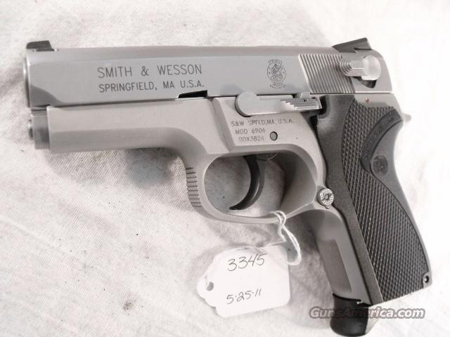 S&W 9mm model 6906 Compact Lightweight Stainless 13 Shot 1 Magazine VG 1999 California Department of Corrections S&W 469 669 Descendant  Guns > Pistols > Smith & Wesson Pistols - Autos > Alloy Frame