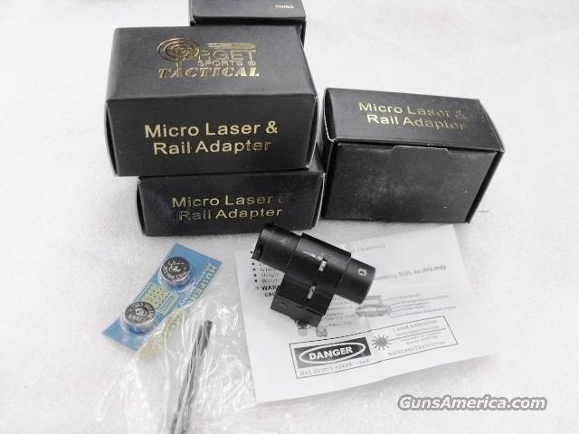 Laser Sight Micro Laser Picatinny or 3/8 Groove Mt NIB  Non-Guns > Lights > Tactical