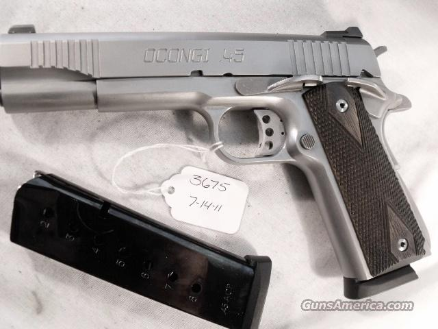 U.S. 1911A1 C.O. Arms Stainless Custom .45 ACP New Test Fired 45 Automatic CO Arms DGC Excellent in Box 2 Magazines   Guns > Pistols > 1911 Pistol Copies (non-Colt)